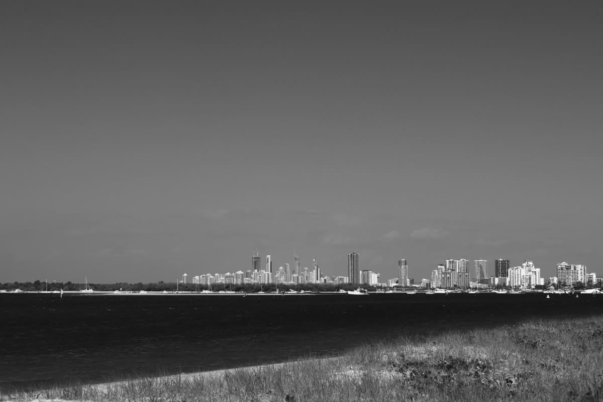 gold coast black and white