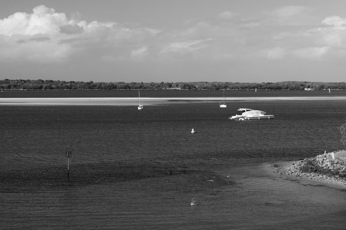 runaway bay black and white